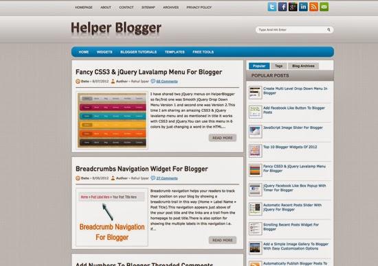 Helper Blogger
