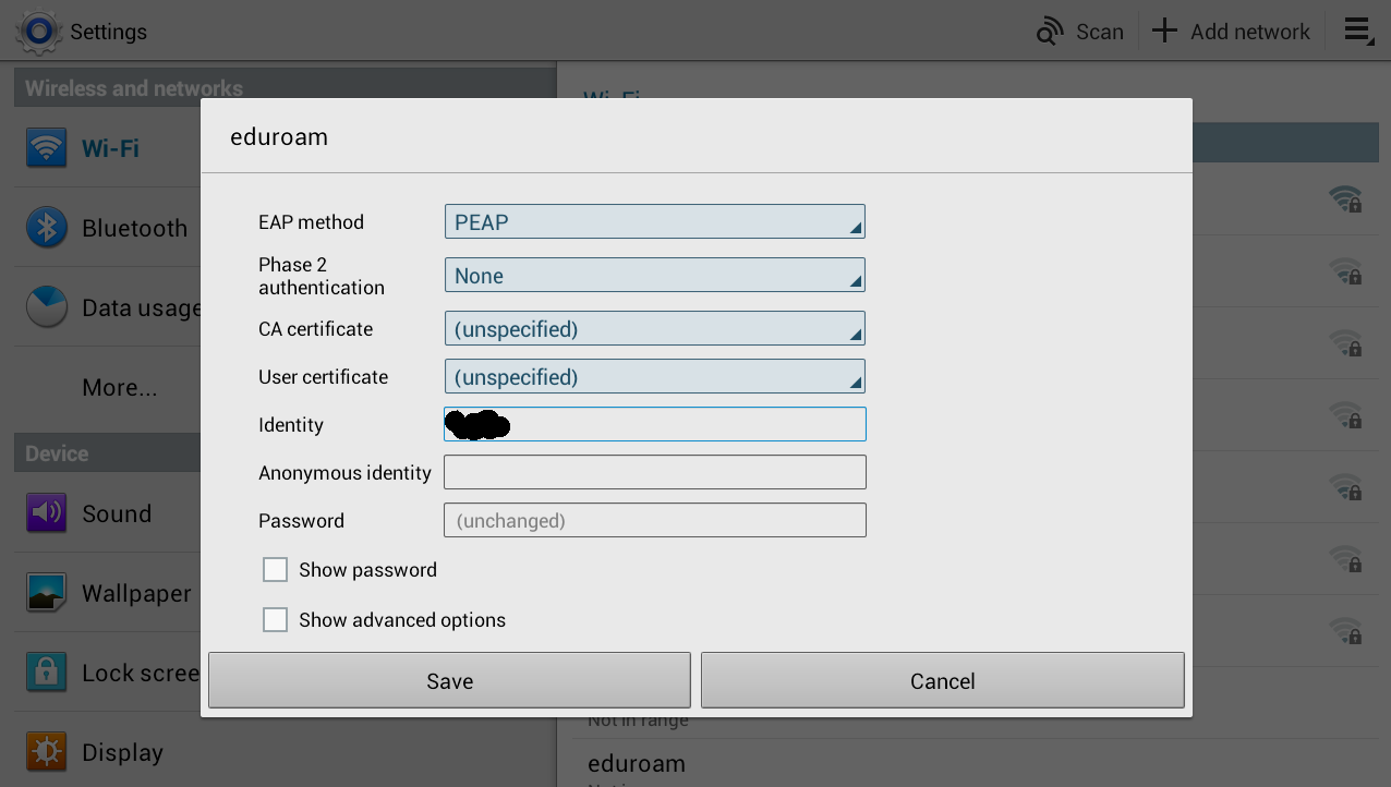 Wicd validating authentication