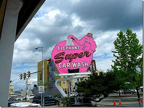 Elephant Car Wash Downtown Seattle