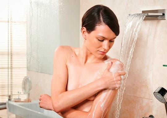 La ducha perfecta: limpiar e hidratar