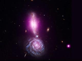 галактики VV 340 North и VV 340 South