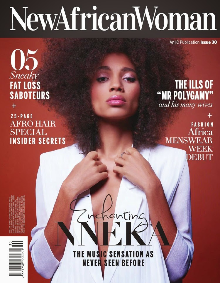 Singer, Songwriter, Actress @ Nneka (Nneka Lucia Egbuna) - New African Woman Issue 30, 2015