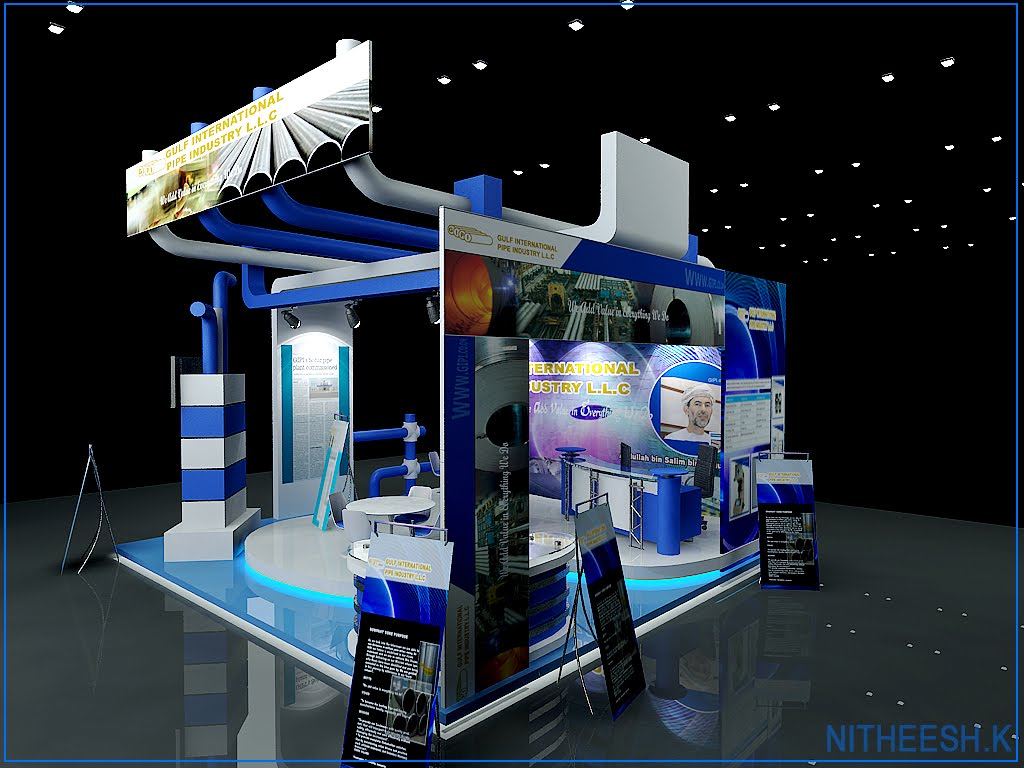 D Exhibition Designer Jobs In Qatar : D visualiser in qatar exhibition stand for design works