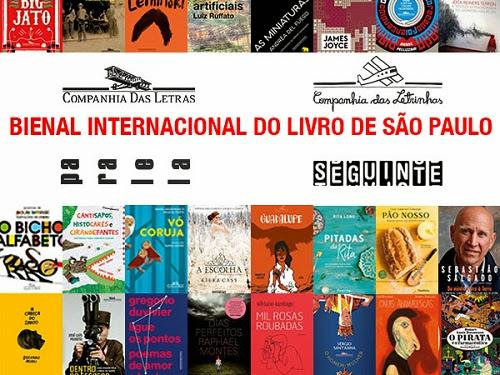 Programação da Companhia das Letras para a XXIII Bienal do Livro de São Paulo