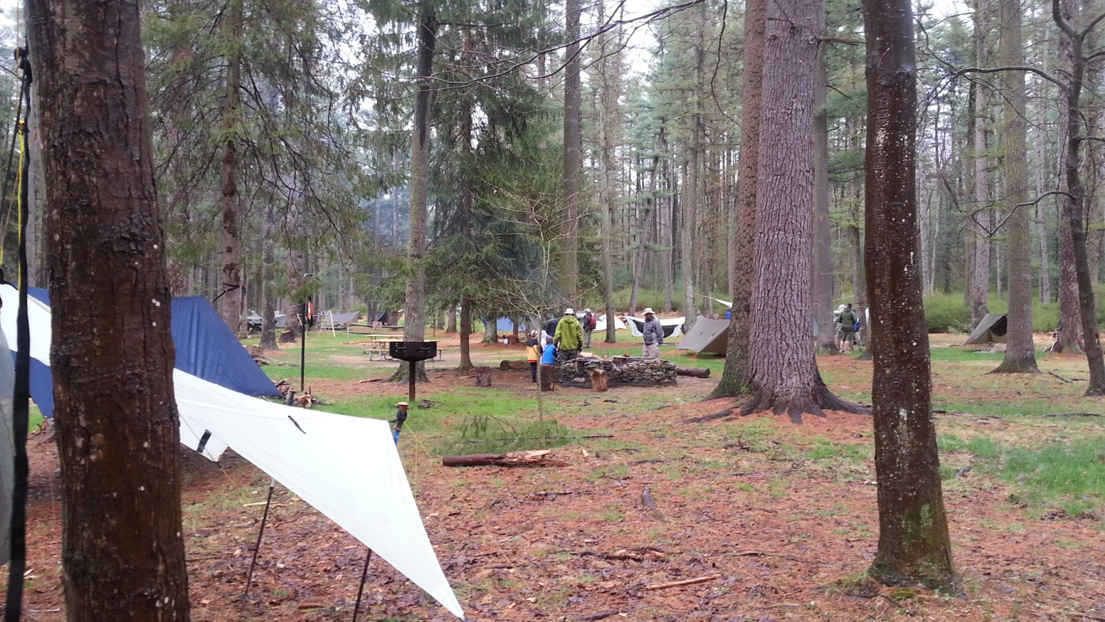Appalachian Trail camping Mahha