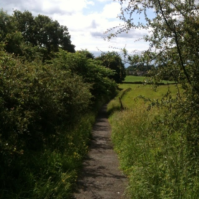 Burneside to Kendal footway