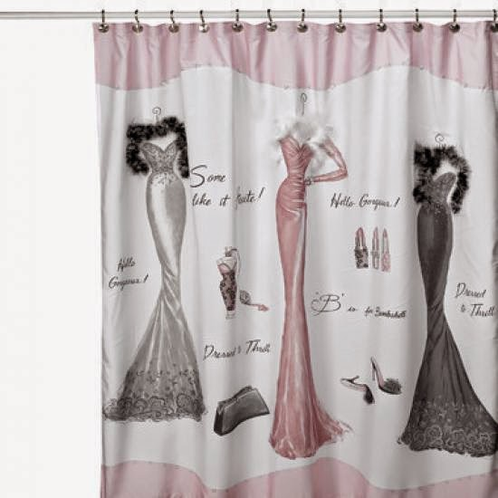 bathroom curtains,shower curtain,Original shower curtain design for women bathroom