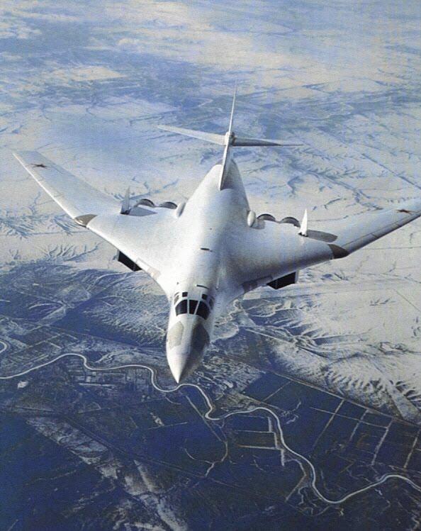 Tupolev TU-160 Rusian Supersonic Bomber
