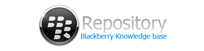 blackberry repository