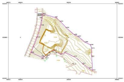 Mapa topográfico - Medicion topográfica