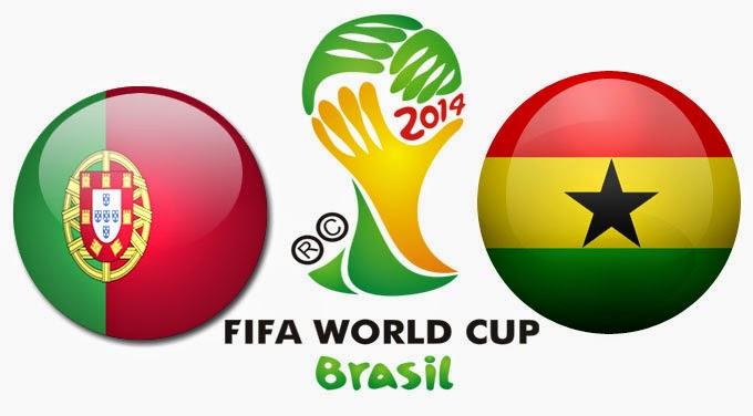 Perkiraan Hasil Akhir Pertandingan Pamungkas Fase Penyisihan Group G Portugal Vs Ghana