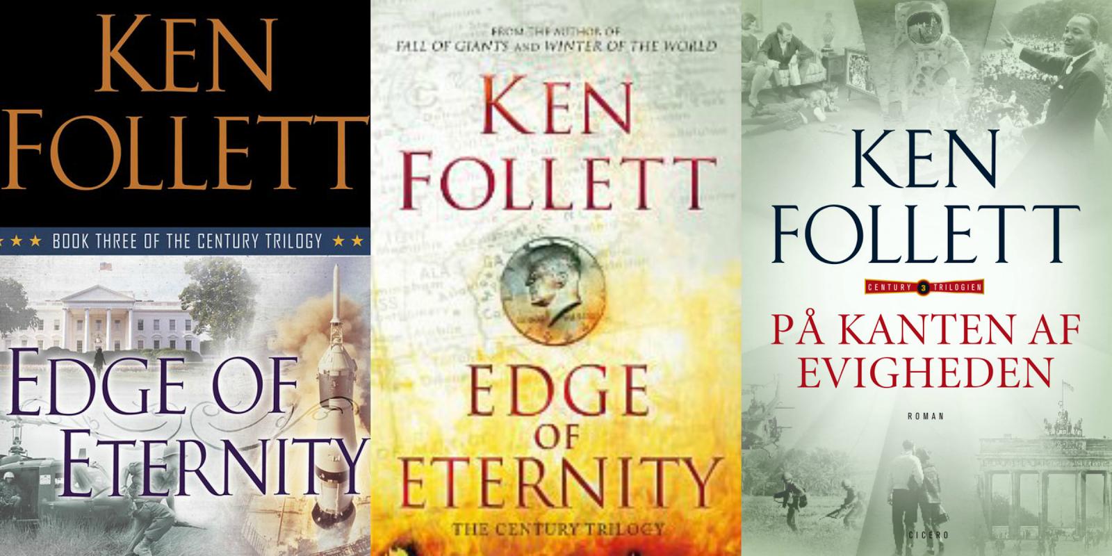 Llega el desenlace de la trilogía The Century, de Ken Follett  Portadas