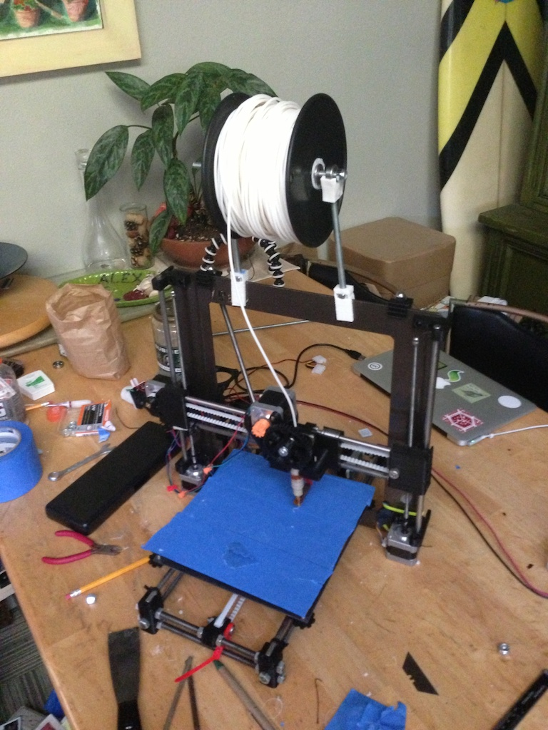 reprap prusa i3 diy 3d printer instructions