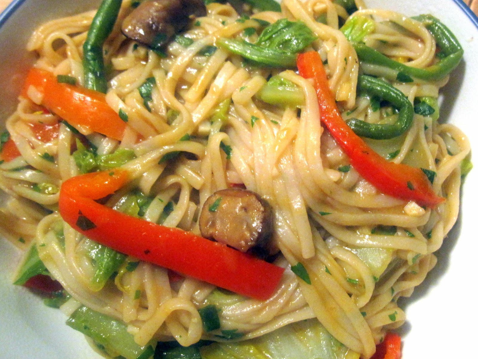 Food for the Week: Vegetable Lo Mein