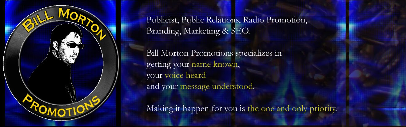 Bill Morton Promotions - Radio Promotion, Search Engine Optimization & Marketing