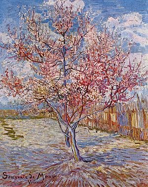 Why band name Peach Of Immortality - Vincent__van_Gogh - Flowering peach trees