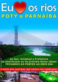 RIO POTY PEDE SOCORRO!