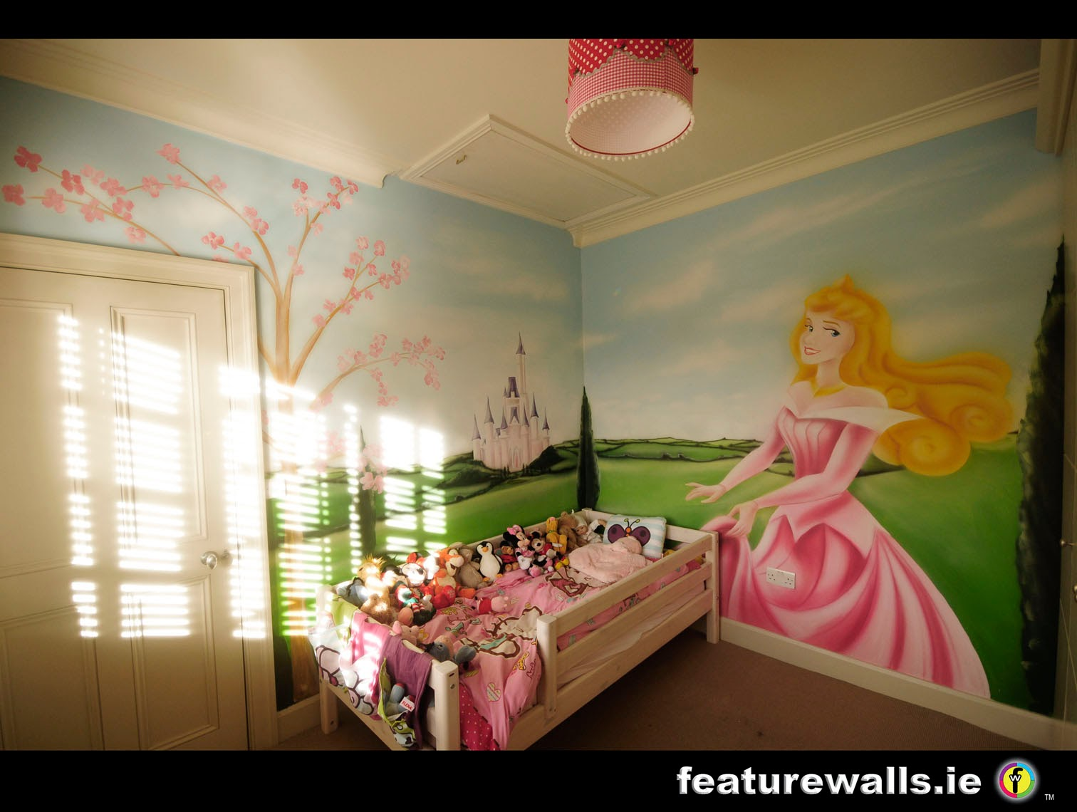 KIDS BEDROOM MURAL SPACE WALL HAND PAINTED MURAL BY FEATURE WALLS IRISH  MURAL ARTISTS