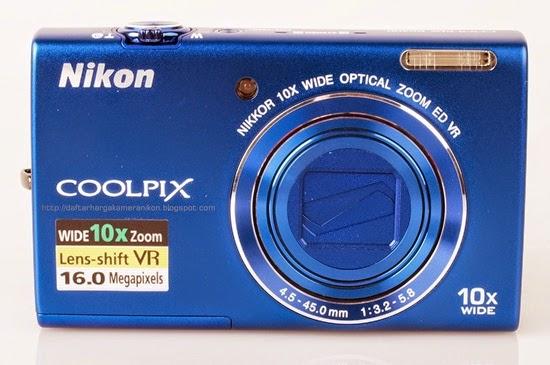 Harga dan Spesifikasi Kamera Nikon Coolpix S6200 Terbaru