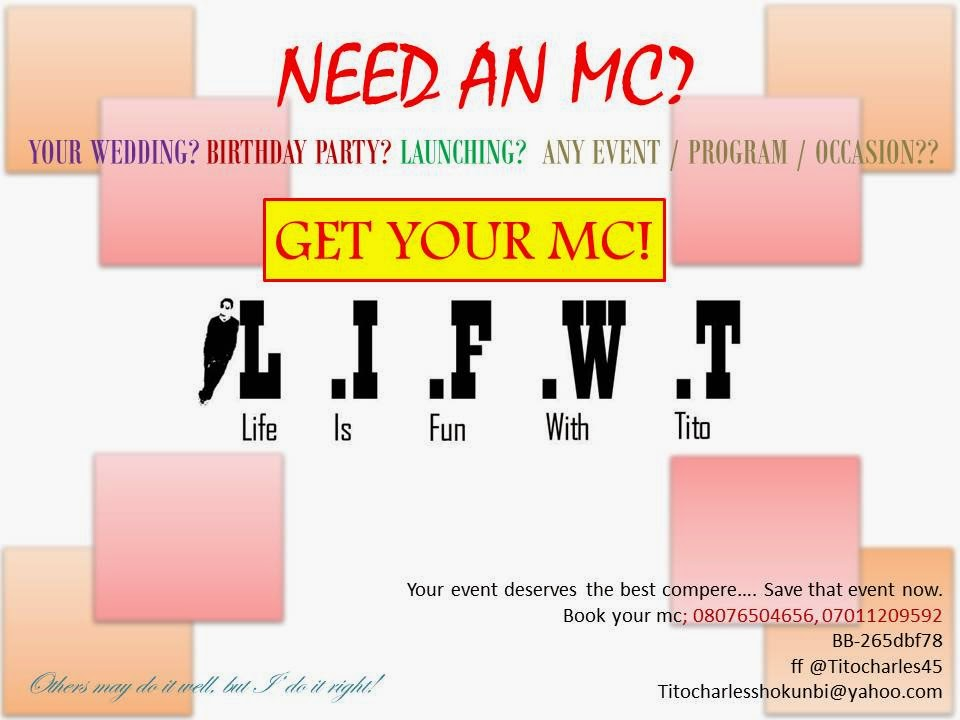 Need an MC? Click on the image for more info