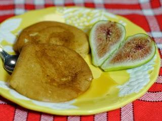 Pancake aux figues et sirop d'érable