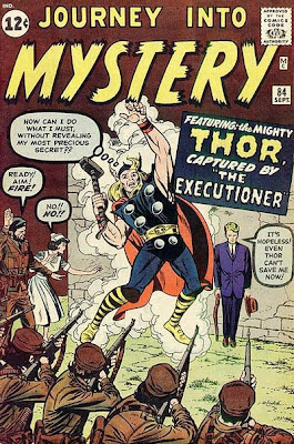 Journey into Mystery# 84, Thor, captured by the executioner