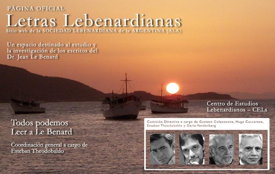 LETRAS LEBENARDIANAS