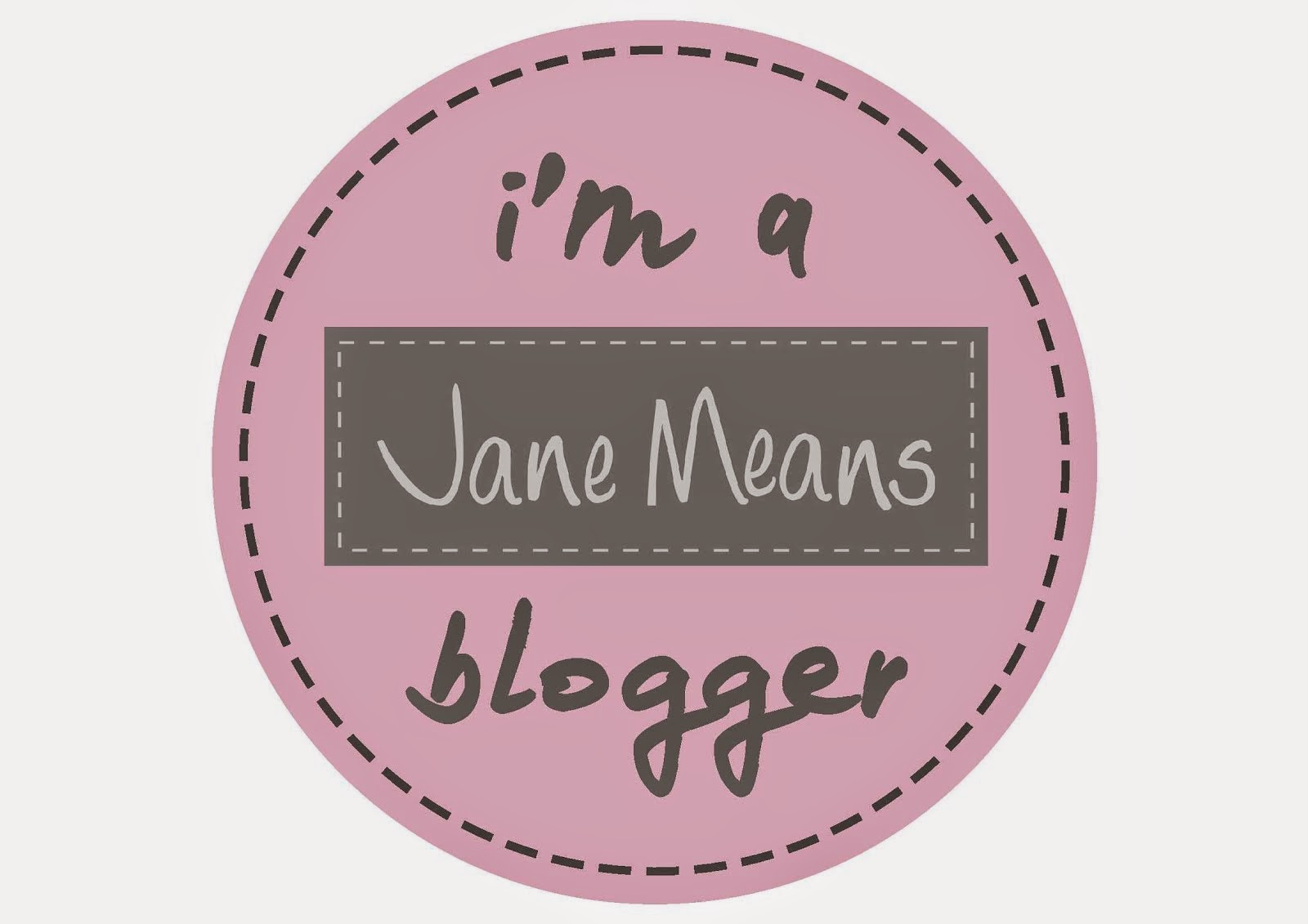 I'm part of Jane Means' Blogging Team