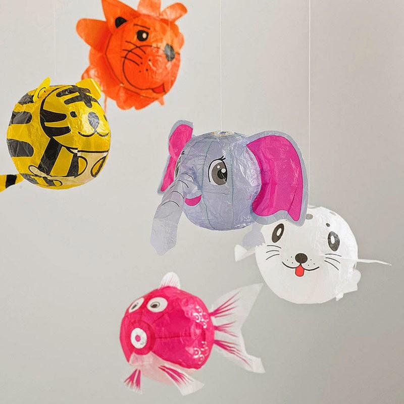 globos de papel japoneses, Petra Boase