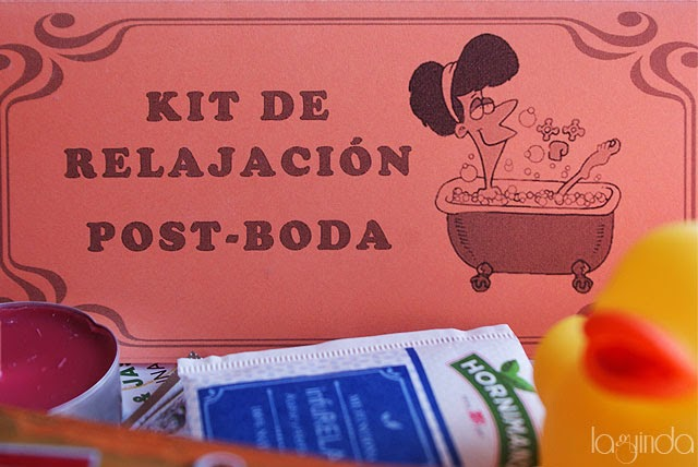 Kit de relajación post boda
