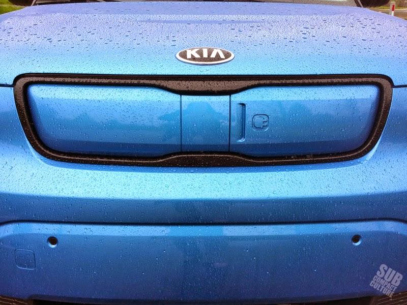 Kia Soul EV charge port