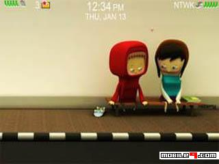 1260859984 Dear You and Me   Blackberry curve 8300 themes