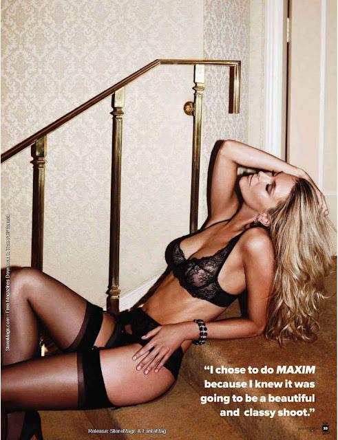 Jennifer Hawkins sexy in lingerie