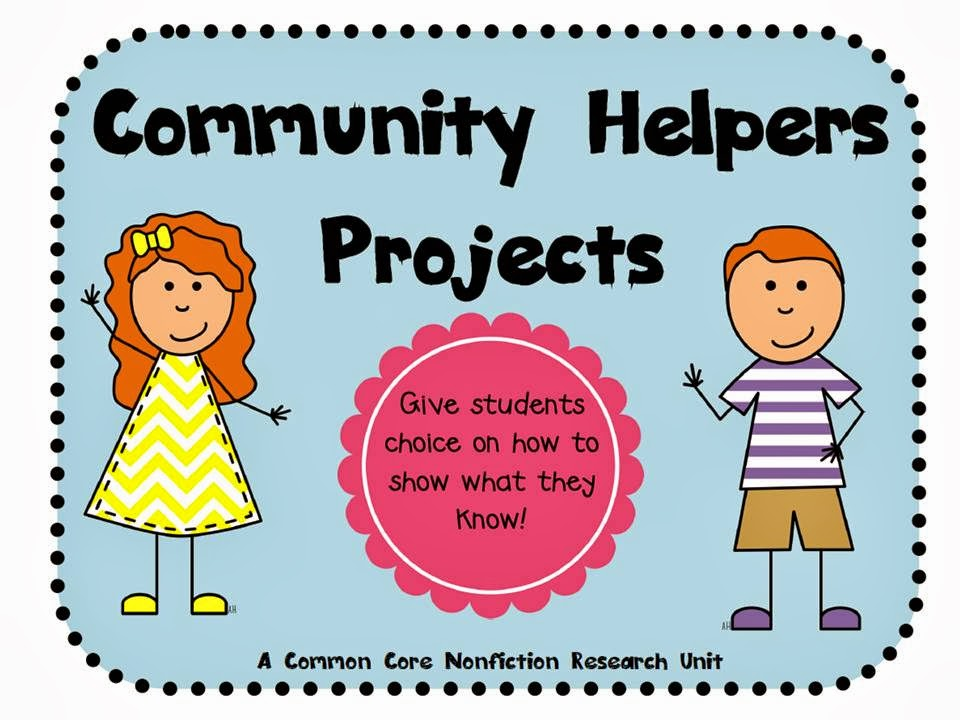 http://www.teacherspayteachers.com/Product/Community-Helpers-Common-Core-Nonfiction-Projects-690583