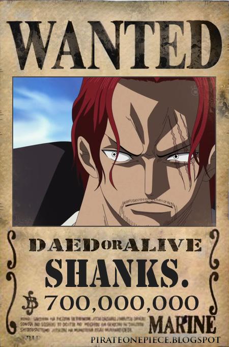 Shanks One Piece, - ToonCharacter | 450 x 682 jpeg 140kB