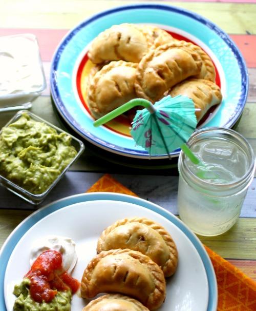 Hungry Harps: Mini Spicy-Cilantro Chicken Empanadas