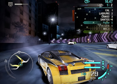 amazing screenshot of gameplay nfs carbon