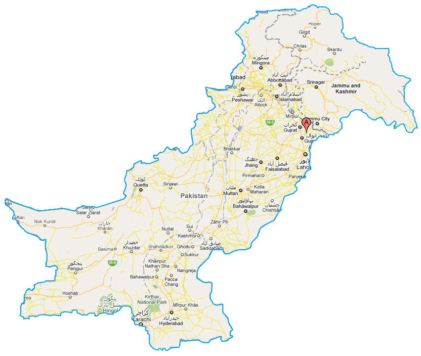 Pakistan 3D Maps
