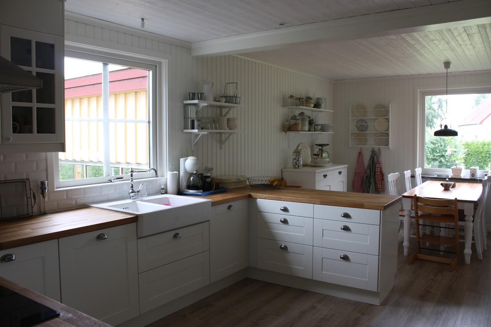 Annas skattkammare: kök före efter