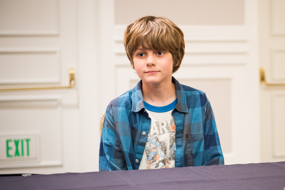 Ty Simpkins Iron Man 3 Interview