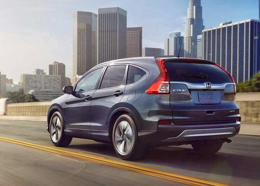 Honda Crv 2015 fotos, mudanças