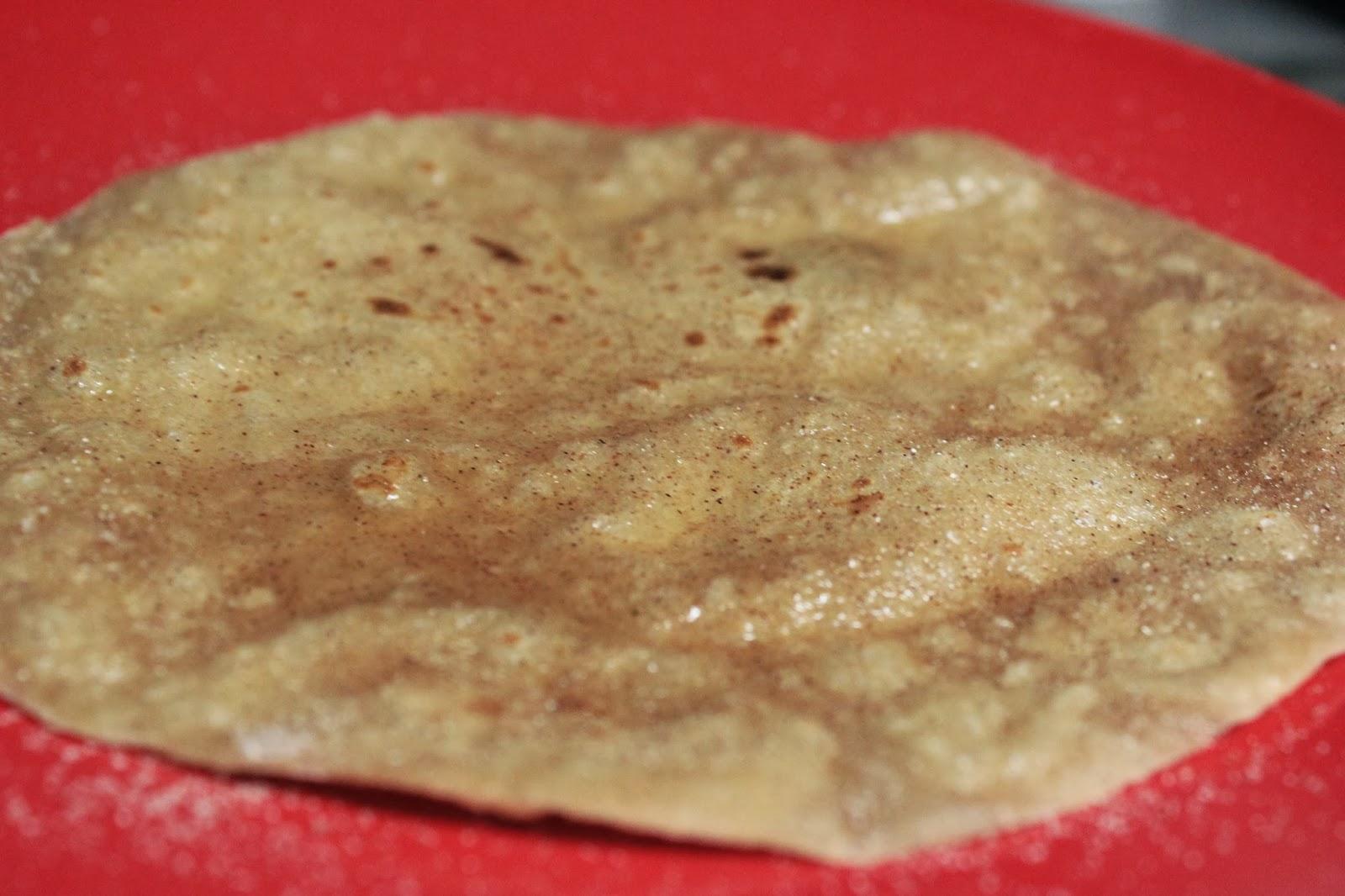 how to prepare chapati roll