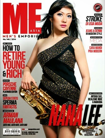 ME Asia Edisi 146 Th.2014 Nana Lee | Men's Emporium Asia 146