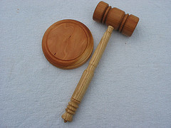 Law Judge Gavel