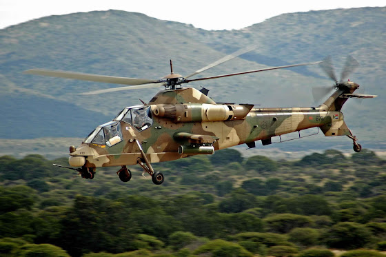 Rooivalk attack helicopter