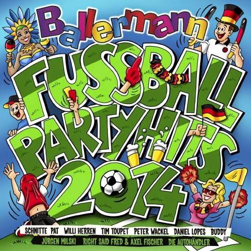 Ballermann Fussball Partyhits 2014
