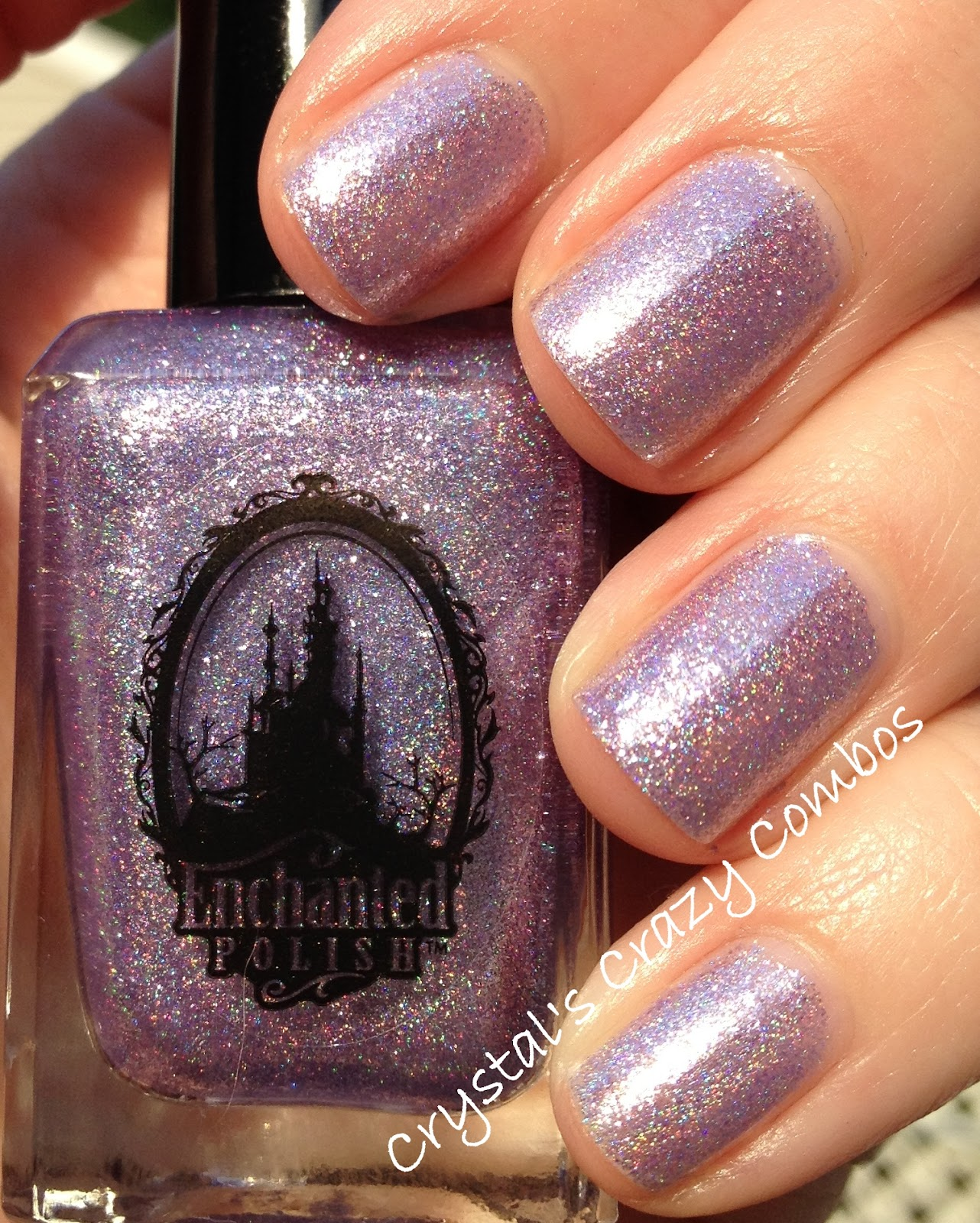 Crystal\'s Crazy Combos: Enchanted Polish - Purple Roses