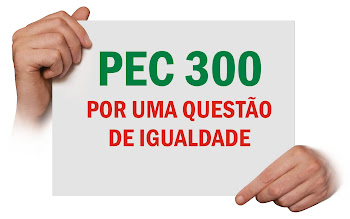 PEC 300:  POR UMA QUESTÃO DE IGUALDADE