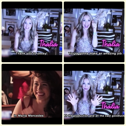 Thalia's message to Jessy Mendiola as Maria Mercedes