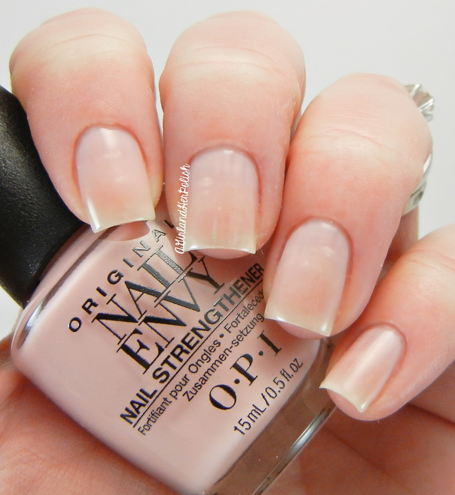 A Girl and Her Polish: OPI Nail Envy Strength in Color Swatches and ...